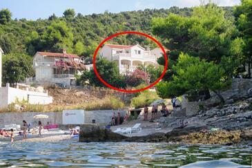 Postira, Brač, Property 5152 - Apartments near sea with pebble beach.