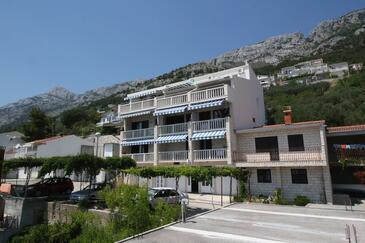 Pisak, Omiš, Obiekt 5154 - Apartamenty ze żwirową plażą.