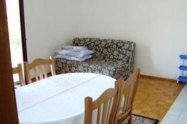 Nečujam, Living room in the apartment, WIFI.