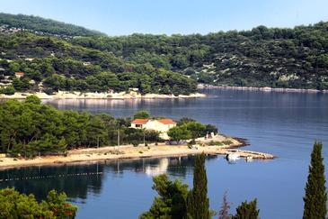 Nečujam, Šolta, Alloggio 5168 - Appartamenti affitto vicino al mare con la spiaggia ghiaiosa.
