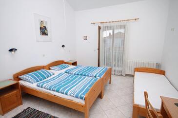 Gornje selo, Ložnice v ubytování typu room, s klimatizací, domácí mazlíčci povoleni a WiFi.
