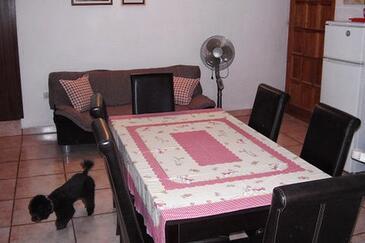 Maslinica, Obývací pokoj v ubytování typu apartment, WiFi.