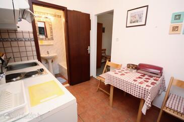 Maslinica, Jídelna v ubytování typu studio-apartment, WiFi.
