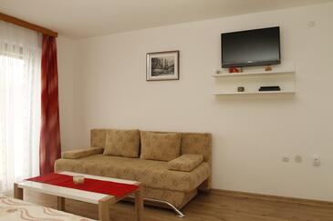 Smoljanac, Гостиная в размещении типа apartment, dostupna klima i WIFI.