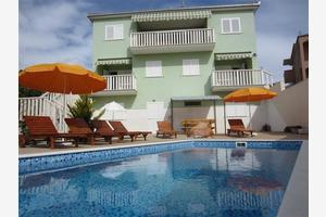 Family friendly apartments with a swimming pool Okrug Gornji, Ciovo - 5218