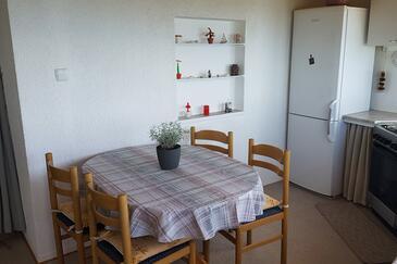 Podstrana, Esszimmer in folgender Unterkunftsart apartment, Klimaanlage vorhanden und WiFi.
