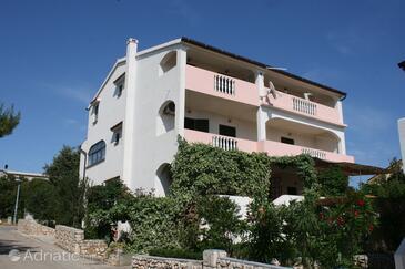 Mandre, Pag, Объект 523 - Апартаменты вблизи моря с галечным пляжем.