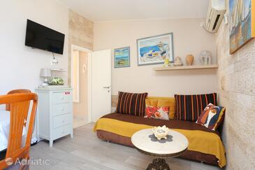 Rastići, Гостиная в размещении типа apartment, доступный кондиционер и WiFi.