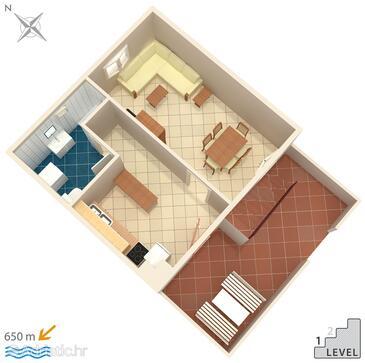 Okrug Gornji, Plan in the house, WIFI.