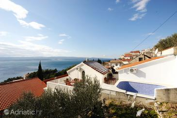 Mimice, Omiš, Property 5262 - Vacation Rentals with pebble beach.