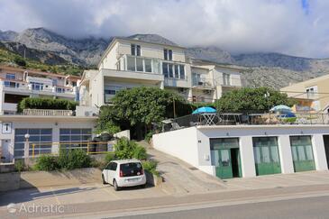 Tučepi, Makarska, Объект 5263 - Апартаменты и комнаты с галечным пляжем.