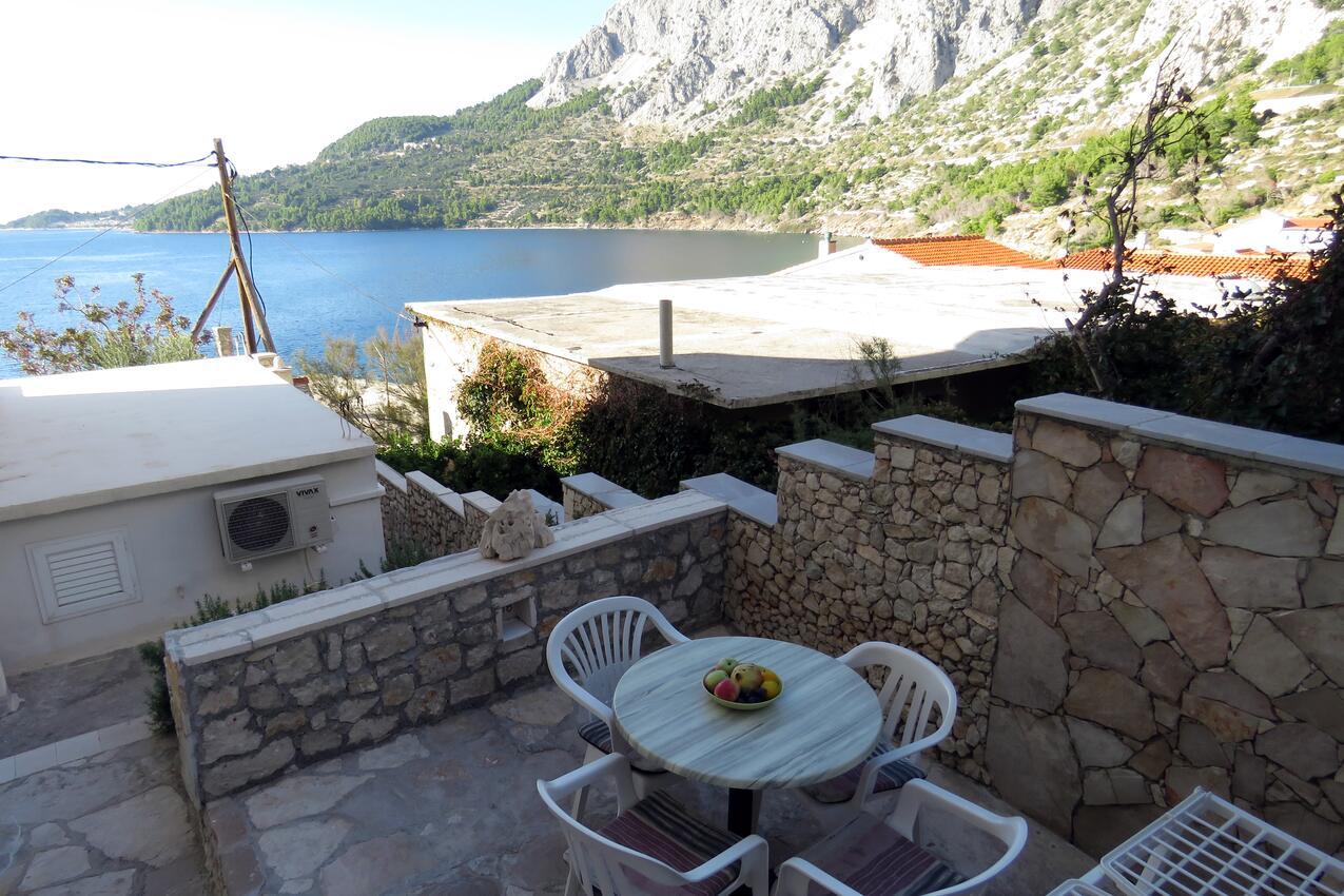 Ferienwohnung im Ort Dra nice Makarska Kapazität 4 0