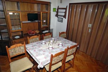 Drašnice, Dining room in the apartment, WiFi.