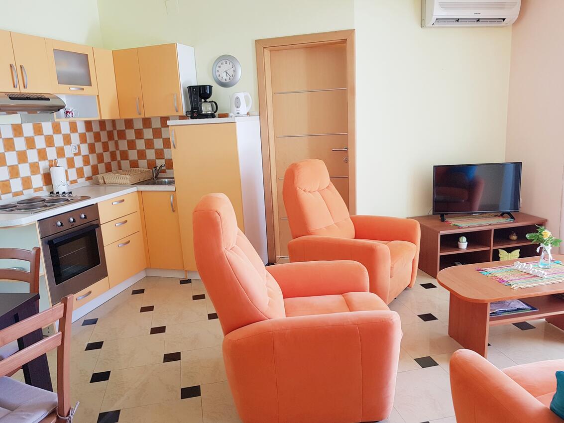 Ferienwohnung im Ort Njivice (Krk), Kapazität Ferienwohnung  Insel Krk