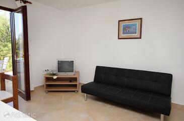 Omišalj, Гостиная в размещении типа apartment, Домашние животные допускаются и WiFi.