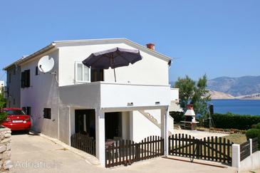 Pag, Pag, Объект 530 - Апартаменты вблизи моря с песчаным пляжем.