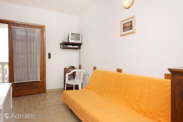 Porat, Living room in the apartment, dostupna klima i WIFI.