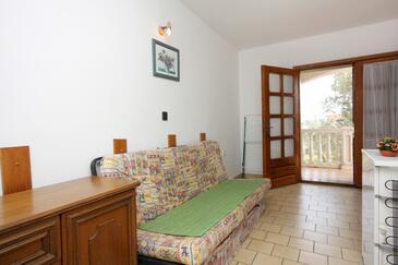 Porat, Pokój dzienny w zakwaterowaniu typu apartment, dostupna klima i WIFI.