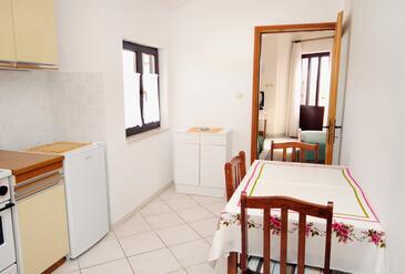 Krk, Jadalnia w zakwaterowaniu typu apartment, WIFI.