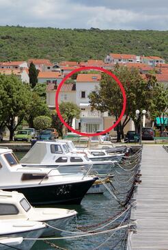 Punat, Krk, Object 5329 - Appartementen by the sea.