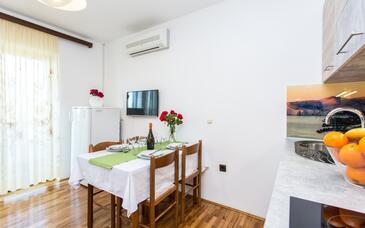 Baška, Ebédlő szállásegység típusa apartment, WiFi .