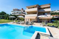 Family friendly apartments with a swimming pool Baska (Krk) - 5339