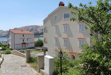 Baška, Krk, Property 5342 - Apartments with pebble beach.