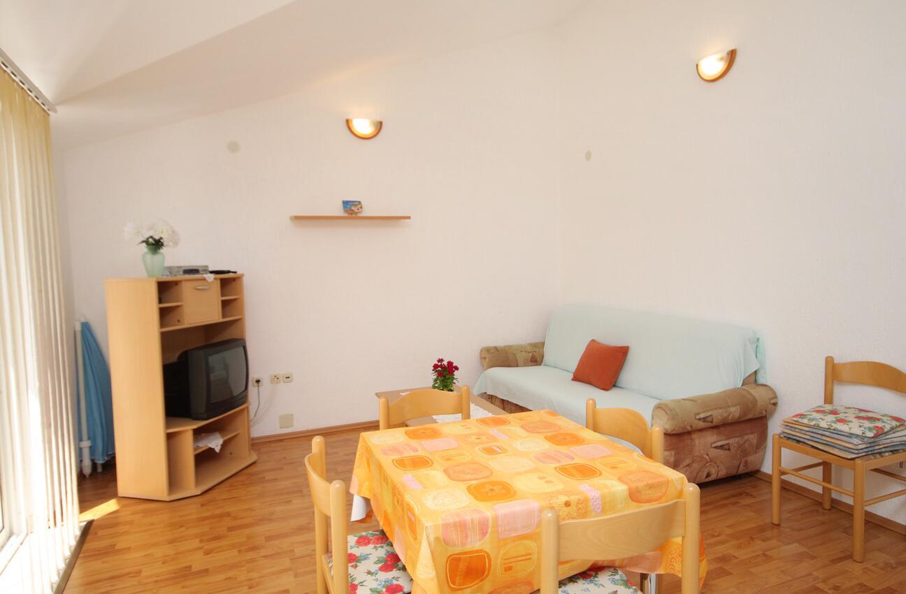 Ferienwohnung im Ort Punat (Krk), Kapazität 4 Ferienwohnung  kroatische Inseln