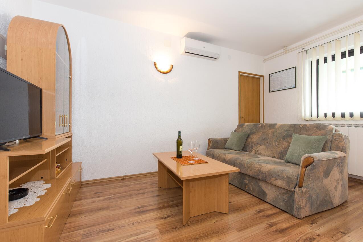 Ferienwohnung im Ort Punat (Krk), Kapazität 4 Ferienwohnung