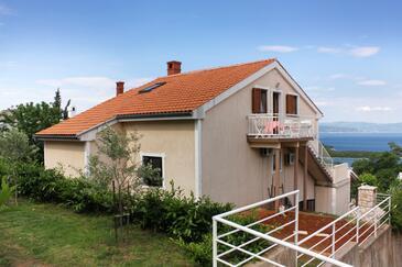 Njivice, Krk, Hébergement 5362 - Appartements et chambres avec une plage de galets.