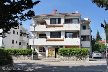 Krk, Krk, Property 5369 - Rooms with pebble beach.