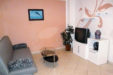 Krk, Living room in the apartment, WIFI.
