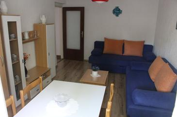 Cres, Living room in the apartment, dopusteni kucni ljubimci i WIFI.