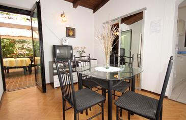 Artatore, Jídelna v ubytování typu apartment, domácí mazlíčci povoleni.