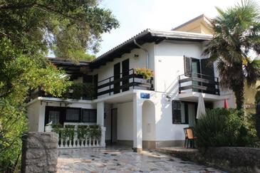 Artatore, Lošinj, Obiekt 5377 - Apartamenty ze żwirową plażą.