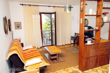 Malinska, Living room in the apartment, dostupna klima, dopusteni kucni ljubimci i WIFI.