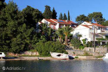 Vrboska, Hvar, Property 540 - Apartments and Rooms near sea with rocky beach.