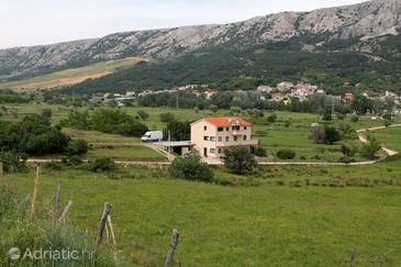 Batomalj, Krk, Property 5401 - Apartments with pebble beach.