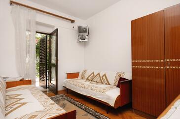 Baška, Obývacia izba v ubytovacej jednotke apartment, dopusteni kucni ljubimci i WIFI.