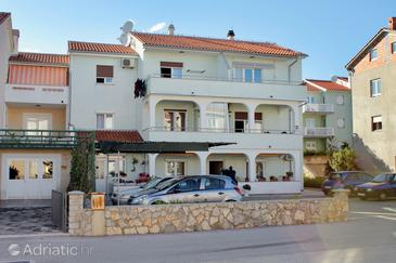 Krk, Krk, Property 5415 - Apartments with pebble beach.
