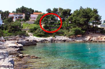 Basina, Hvar, Property 542 - Apartments near sea with pebble beach.
