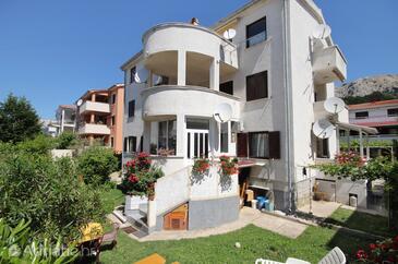 Baška, Krk, Property 5443 - Apartments with pebble beach.