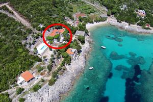 Seaside secluded apartments Cove Rasohatica	 bay - Rasohatica (Korčula) - 5453