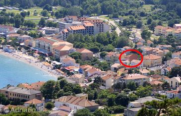 Baška, Krk, Property 5454 - Apartments and Rooms near sea with pebble beach.