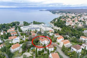 Malinska, Krk, Property 5456 - Apartments in Croatia.