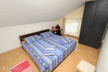Njivice, Спальня в размещении типа room, WiFi.