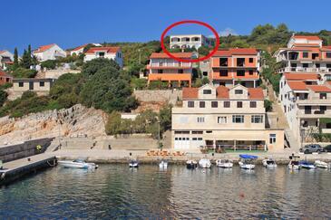Zavalatica, Korčula, Objekt 546 - Ubytování v blízkosti moře.