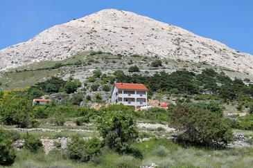 Stara Baška, Krk, Property 5460 - Apartments and Rooms with pebble beach.