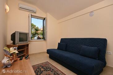 Malinska, Гостиная в размещении типа apartment, доступный кондиционер и WiFi.