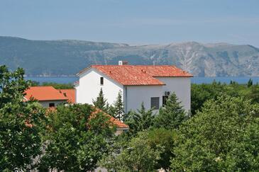 Pinezići, Krk, Property 5465 - Apartments with pebble beach.